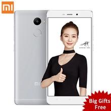 Original Xiaomi Redmi 4 2GB RAM 16GB ROM Snapdragon 430 red rice 4 5.0 Inch 4100mAh 13.0MP Redmi4 Mobile Phones