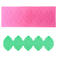 DANMIAONUO Lace Fondant Mold Stampi Silicone Christmas Molds Flowers Shape for Chocolate Baking Tools Cakes SK024940