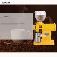 LD 800N Automatic large capacity 250g Electric Conic Mill Grinder 110V/220V Coffee Bean Espresso Grinding Fine Grinding 150W