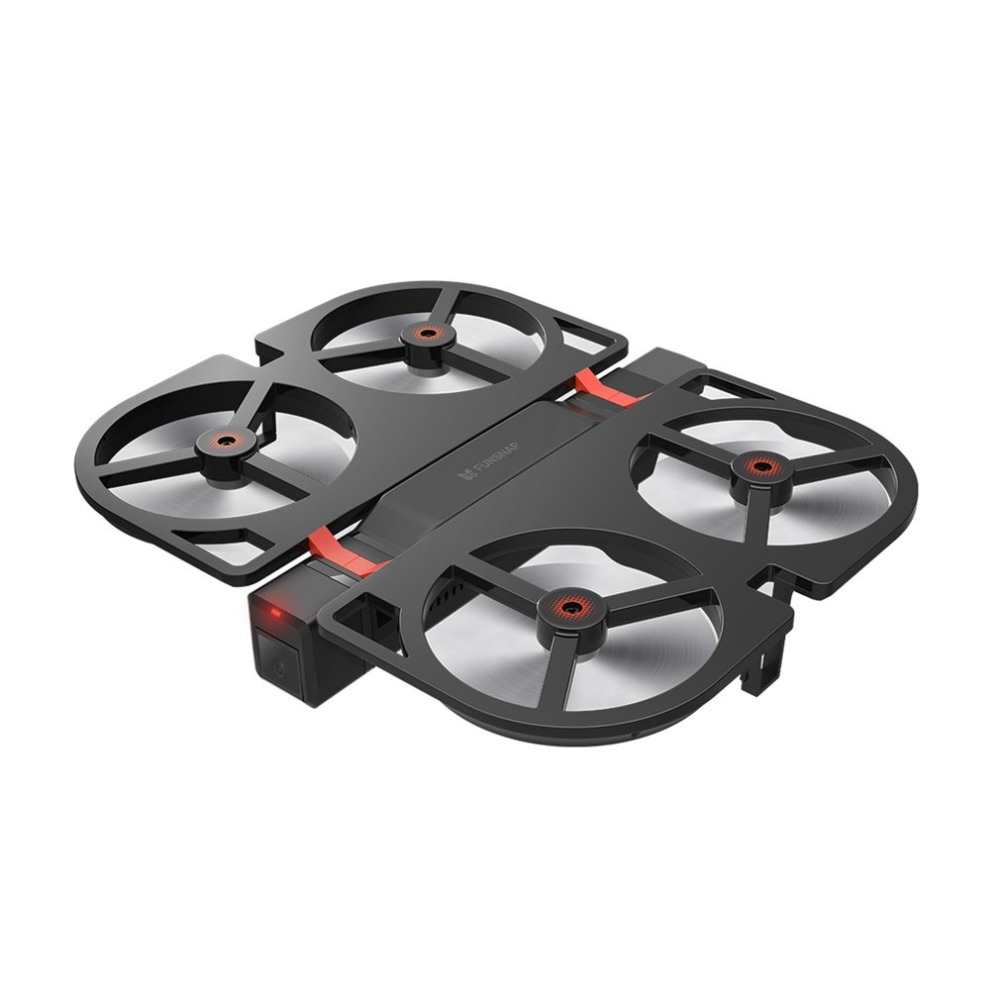 FUNSNAP iDol 2.4G RC Drone Foldable GPS Quadcopter with 120degre Pitch 1080P HD Wifi FPV Camera Optical Flow Positioning Gesture