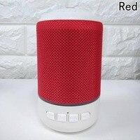 Przenośne Tkaniny Mini Bluetooth Głośniki Bezprzewodowe Małe Stereo Dźwięk Muzyka Audio TF USB Światła LED Głośnik Z Mikrofonem Do Telefonu