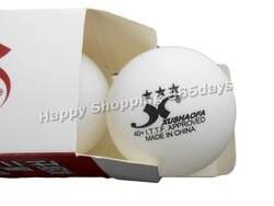 6x XUSHAOFA 40 + шары для настольного тенниса белые 3 звезды