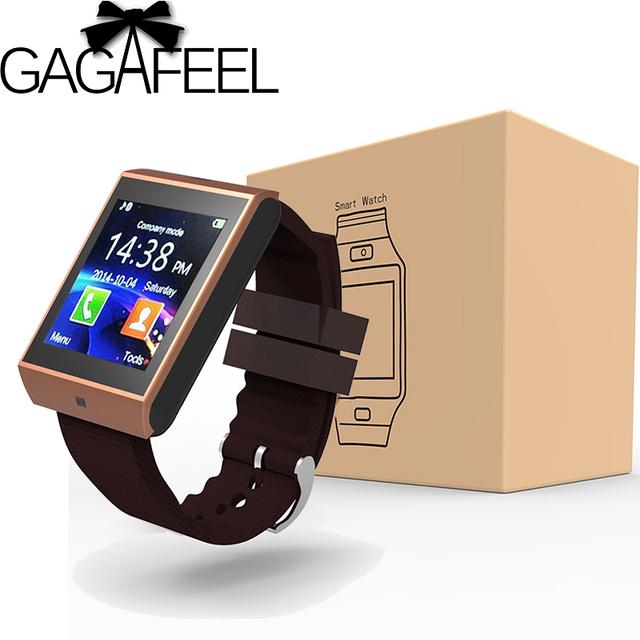 Bluetooth Inteligente Reloj Pasómetro Cronómetro Calculadora Cámara Reloj de Pulsera Relojes de Pulsera Smartwatch para Android IOS Teléfono
