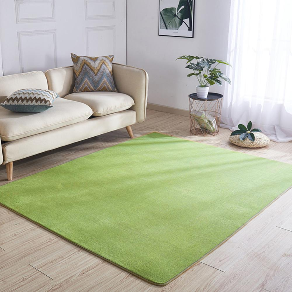 Style japonais vert Tatami tapis 185cm * 185cm doux confortable antidérapant salon chambre tapis luxe grand tapis