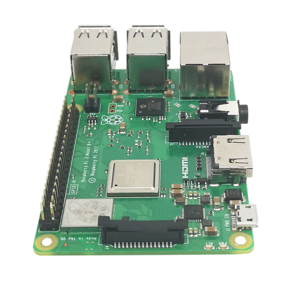 Original Officiel Framboise Pi 3 Modèle B + Plus Pi 3B + Linux Démo Conseil Python Programmation Mini PC - 5