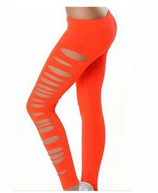10pcs/lot free shipping european style woman elastic solid legging female hold legging skinny legging free size