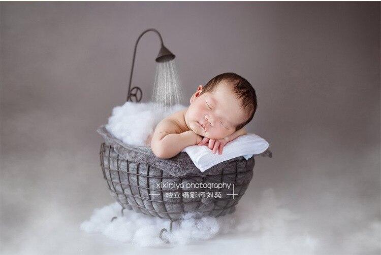 Nouveau-né photographie accessoires panier bébé photographie fond accessoires Studio Photos