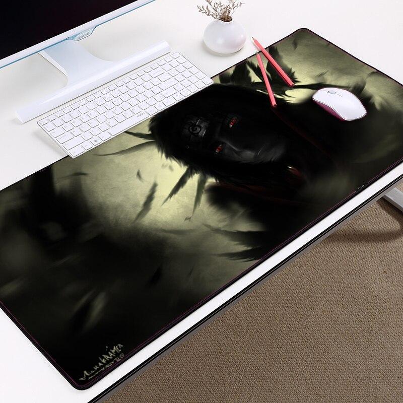 Mairuige популярного аниме Мышь pad Наруто Творческий Мышь pad 400x800x2 мм ужин большой Размеры к декоративные настольные игры Мышь