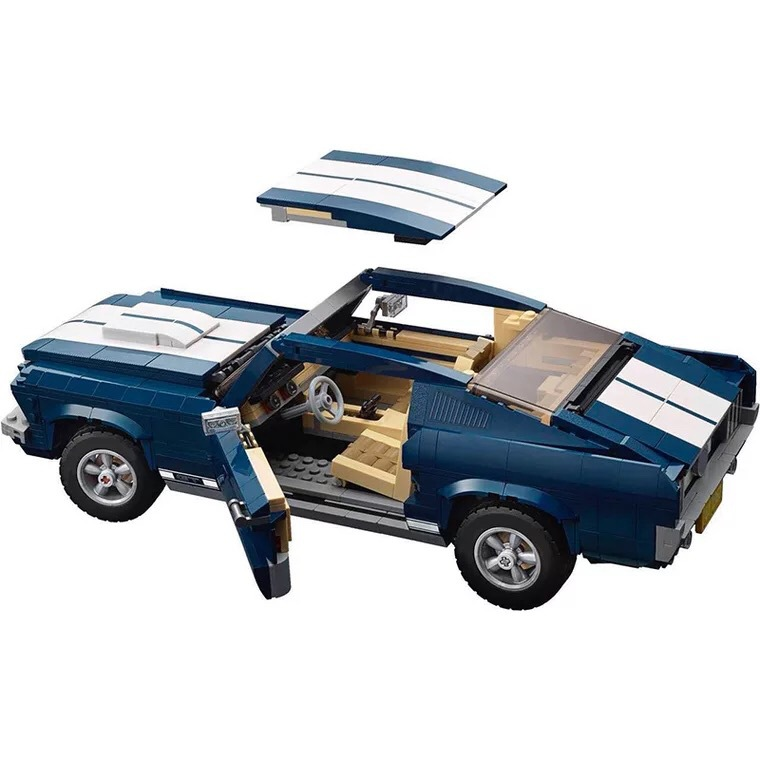 21047 Technic Toys Series Compatible with MOC 10265 Mustang Car Set Building Blocks Bricks Car Toys Kids Christmas Gifts