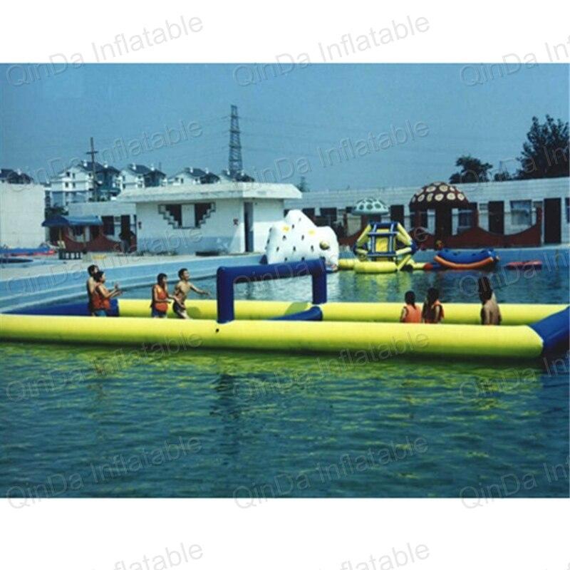 Надувной Пляжный Волейбол суд скачать inflables воды надувные Волейбол Поле Для Взрослых Надувной Водные виды спорта