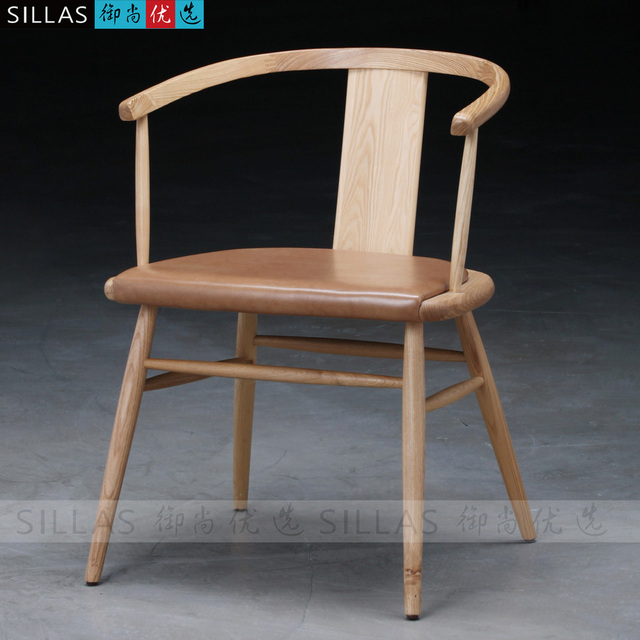 Modern Wood Chair Chinese Chair The New Chinese Ming Style Furniture  Restaurant Hotel Continental Nordic Leisure