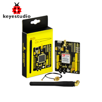 Free Shipping KEYES SIM900 GSM GPRS Module Shields For Arduino Wireless Module With Extension Wire