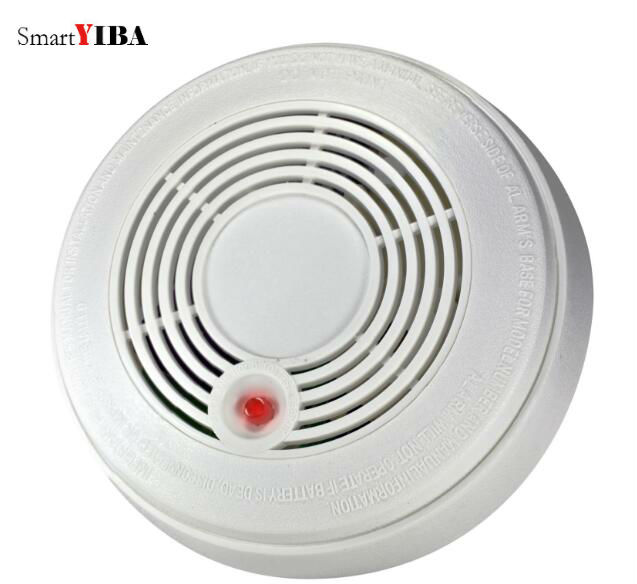 SmartYIBA Battery Powered Combination Smoke Alarm CO Gas Sensor Photoelectric CO&Smoke Fire Detector Carbon Monoxide
