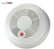 SmartYIBA Battery Powered Combination Smoke Alarm CO Gas Sensor Photoelectric CO&Smoke Fire Detector CO Carbon Monoxide Sensor цены онлайн