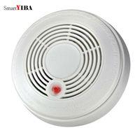SmartYIBA Battery Powered Combination Smoke Alarm CO Gas Sensor Photoelectric CO Smoke Fire Detector CO Carbon