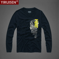 High Quality Fashion Long Sleeve T Shirt Men Tops And Tees Mens T Shirt Casual Slim