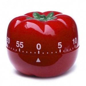 Módní karikatura kuchyně Tomato timer Creative připomenutí 6,5 * 6,5 * 5,5 cm doprava zdarma
