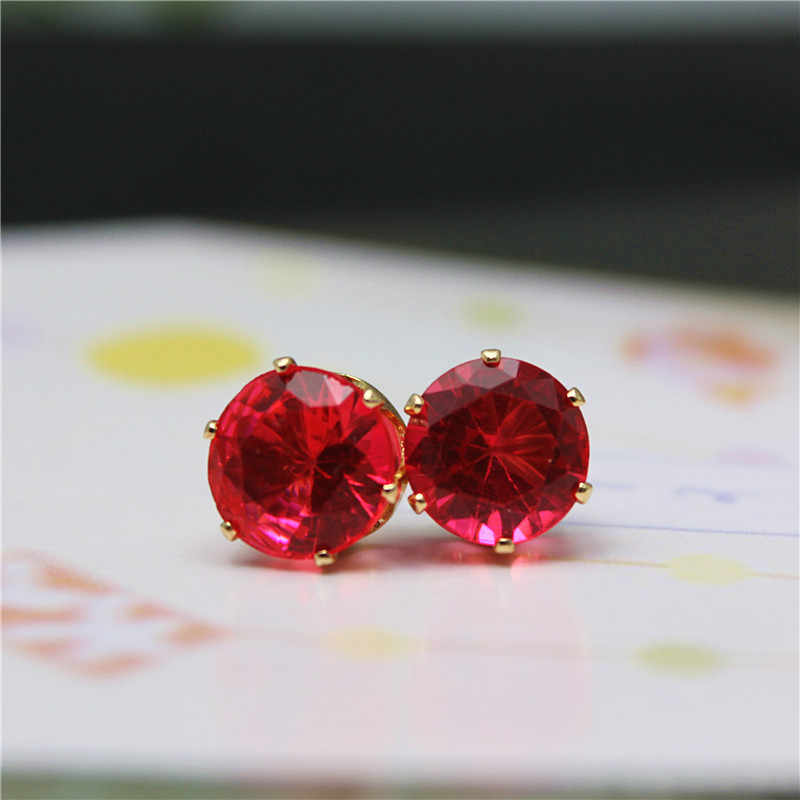2019 brand jewelry luxury austrian crystal earrings for women gold for women stud earrings for girls gift