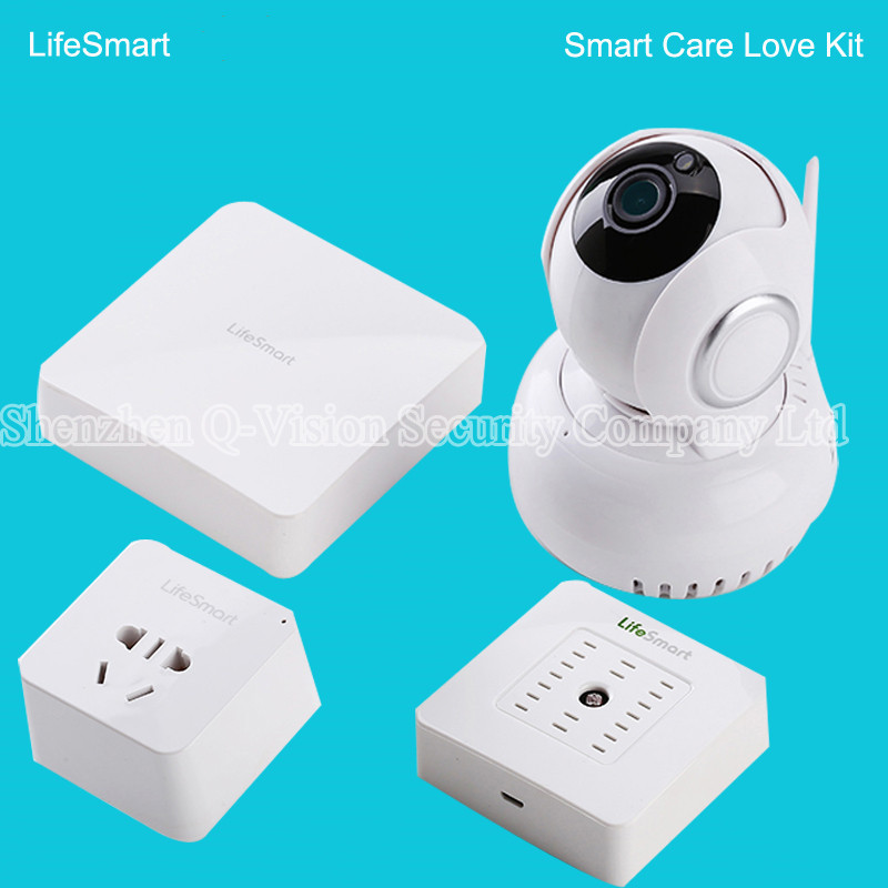 4-Lifesmart Smart Home Automation Smart Station Center Core of  your Home 433MHz Wireless WIFI Remote VIA IOS Android  Phone