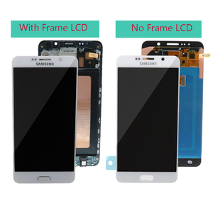Image 2 - 5.7 OLED kaliteli LCD SAMSUNG Galaxy not 5 ekran LCD dokunmatik ekran SAMSUNG not 5 için Note5 N920A n9200 SM N920 N920C