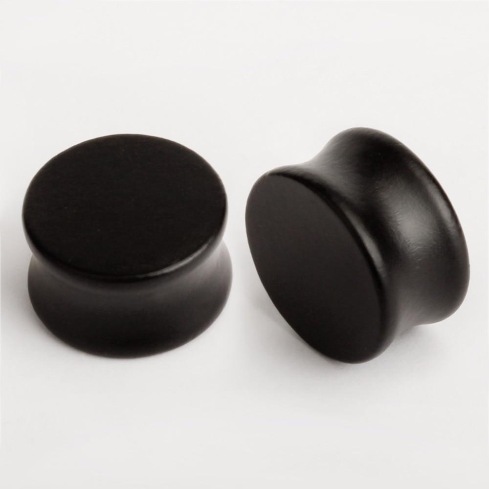 vanliga öronproppar trä örontunnlar piercing kropps smycken sälja - Märkessmycken - Foto 4