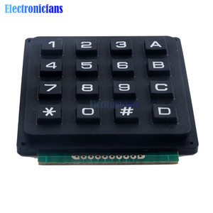 Image 3 - 4x4 مصفوفة صفيف 16 مفاتيح 4*4 التبديل لوحة المفاتيح وحدة لوحة المفاتيح لاردوينو