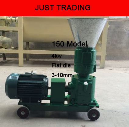 150 4kw Wood Pellet Feed Pellet Mill Machine,pellets Milling Machine,pellet Miller With Motor