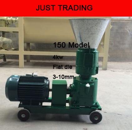 150 4kw Wood Pellet Feed Pellet Mill Machine,pellets Milling Machine,pellet Miller With Motor