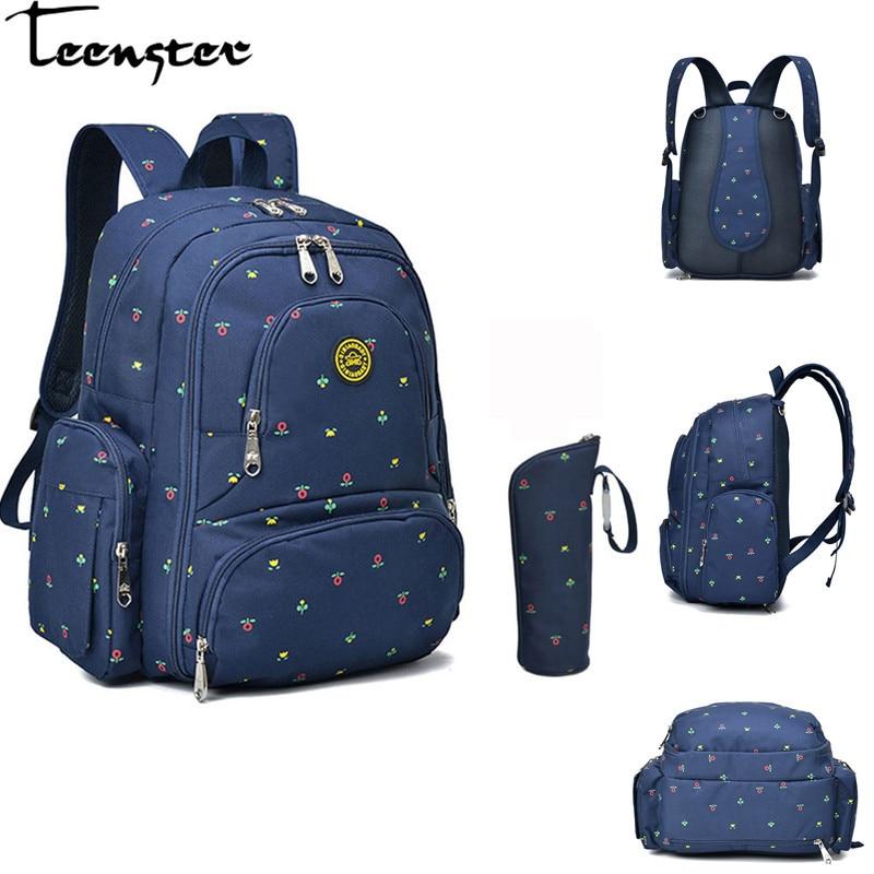 Teenster sac à couches sac à dos maternel multi-fonction haute capacité bébé sac de soin poussette voyage sac à main pour maman bébé trucs