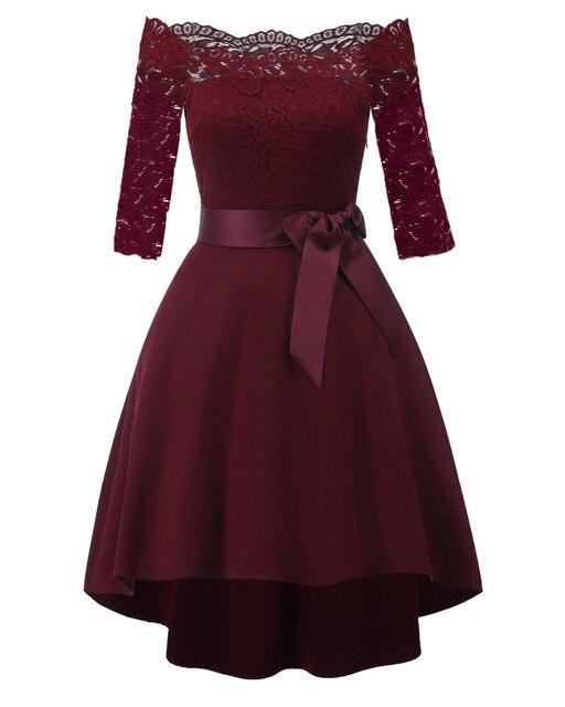 Фото женское короткое коктейльное платье кружевное трапециевидное цена