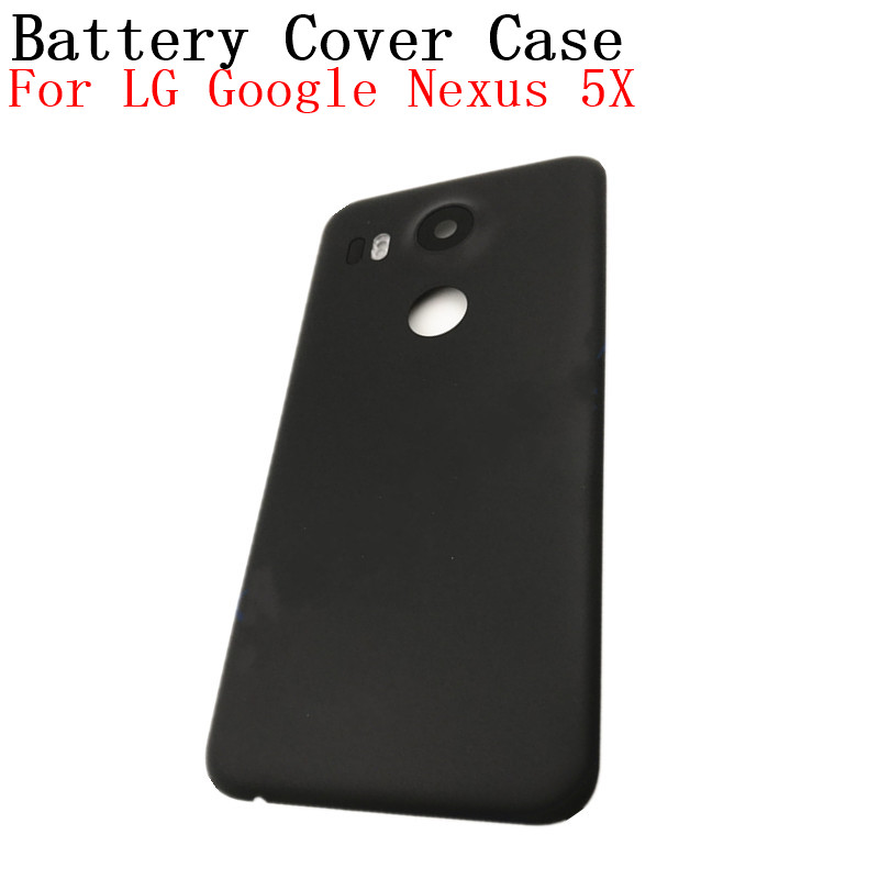 reputable site 84611 e9617 RTBESTOYZ High quality Battery Back Cover For LG Google Nexus 5X Back  Battery Cover Rear Door Housing Case Replacement Parts-in Mobile Phone  Housings ...