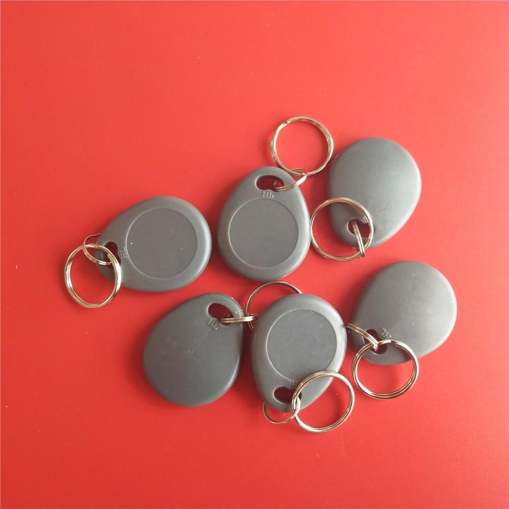 125Khz T5577/T5200 Rewritable RFID Keyfobs Key Token Tags Copy Clone Blank Card - Gray