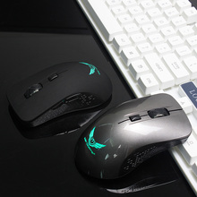 Wireless Mouse Rechargable USB 2.4ghz Gamer Gaming Computer Mouse Optical Charging Cordless 4000 DPI 6 Button For Macbook PC