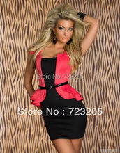 Anerotic Black White Blue Rose Pink Pink Women Summer Sexy Short Sleeve  Dresses f224236013c0