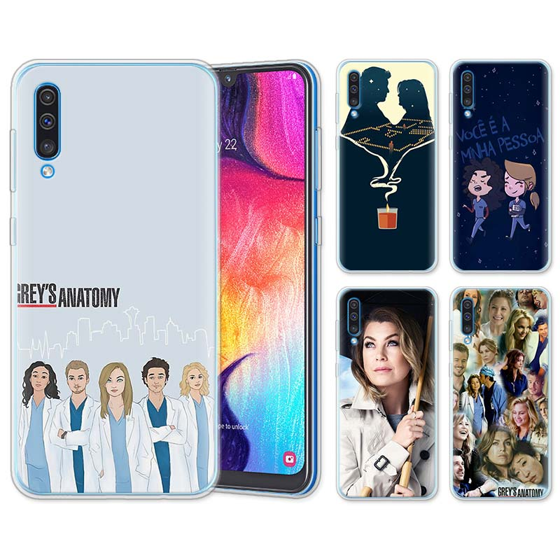Cellphones & Telecommunications Iyicao American Tv Greys Anatomy Nurse Doctor Pattern Soft Case For Samsung Galaxy A70 A50 A40 A30 A10 M10 M20 M30 Black Cover Phone Bags & Cases