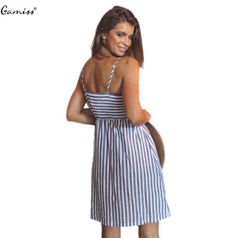 Elegant  Summer Women Dress Spaghetti Front Lace Up Dresses Female Casual Beach
