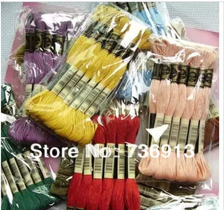 You Can Choose Any Colors And Quantity 50 Pieces Similar DMC Thread  Cross Stitch Floss Thread