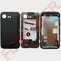 100 Original Back Cover Full Housing For HTC Incredible S S710E G11 By Free Shipping Black