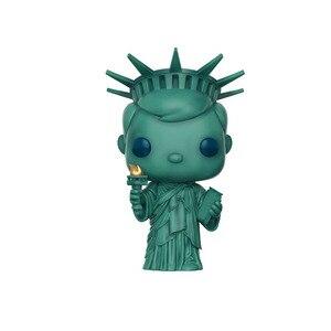 Image 2 - البوب فريدي تمثال الحرية عمل الشكل أنيمي نموذج جمع اللعب البلاستيكية للأطفال الهدايا