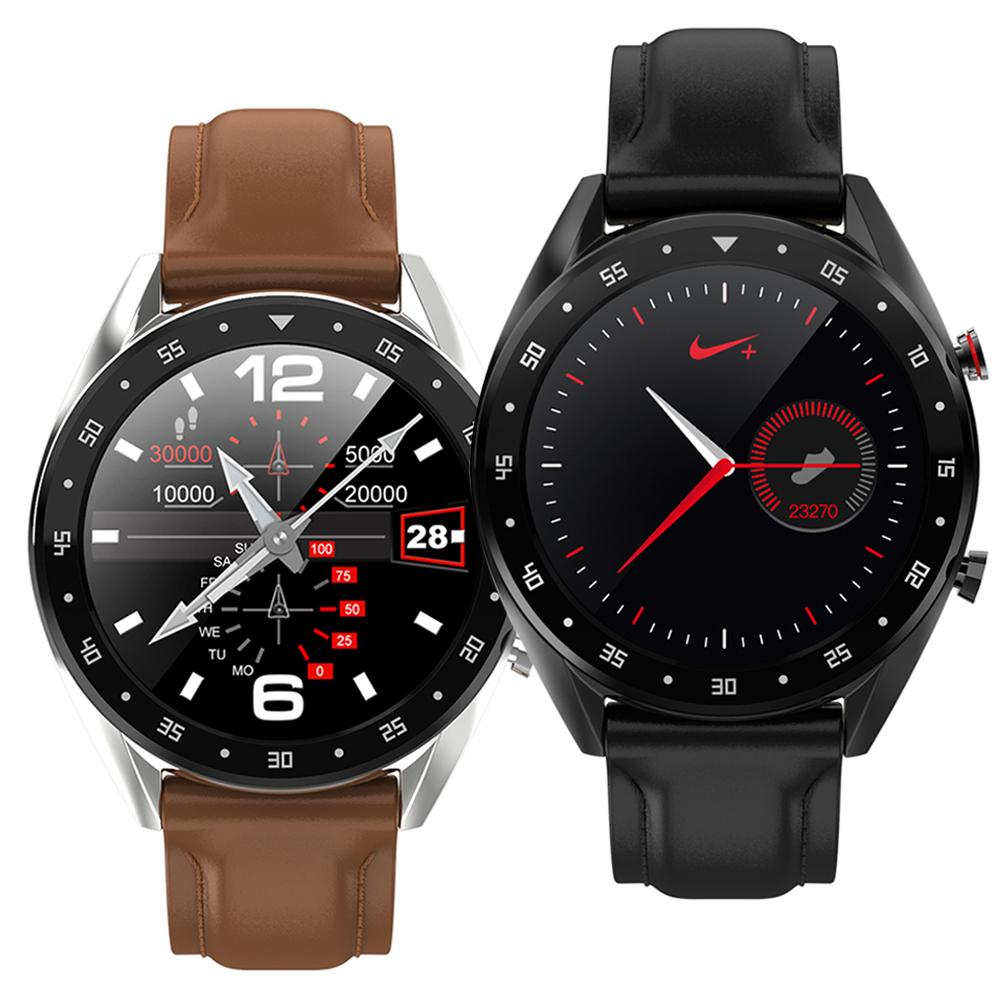L7 ECG PPG Heart Blood Pressure Monitor Fitness Tracker BT Call Smart Watch