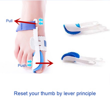 Bunion Corrector Relief Kits Adjustable Splint Soft Pads for Hallux Valgus Pain Toe Straightener @ME88