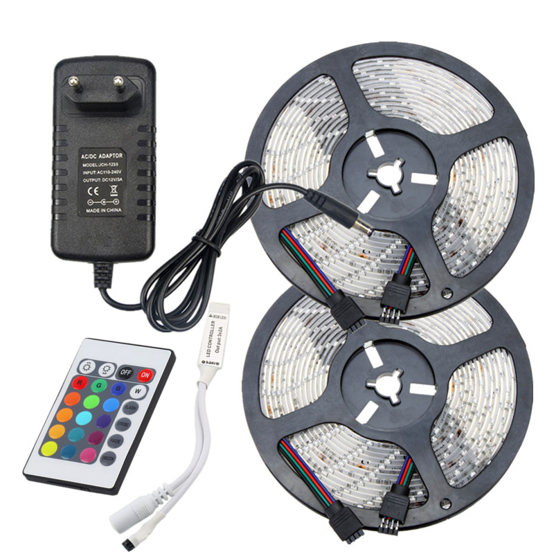 Smd 2835 waterproof rgb led rope light dc 12v low voltage led strip smd 2835 waterproof rgb led rope light dc 12v low voltage led strip lighting 5m 10m 15m kit with ir music led controllerpower in led strips from lights aloadofball Images