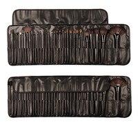 Pro 32 PCS Cosmetic Facial Make Up Brush Kit Soft Makeup Brushes Tools Set With Black