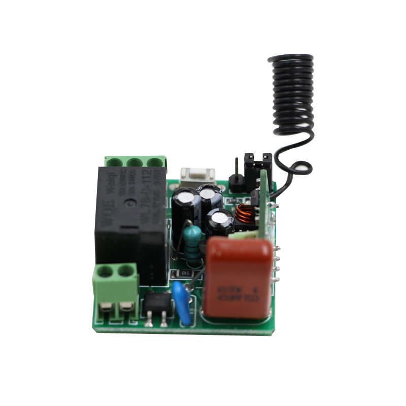 AC 220V 1CH 10A relay 315/433Mhz Wireless Remote Control Switch Mini receiver Momentary Toggle Latched new ac 220v 30a relay 1 ch rf wireless remote control switch system toggle momentary latched 315 433mhz