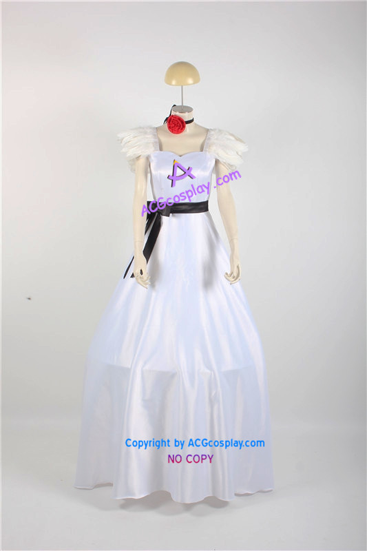 Vocaloid Hatsune Miku cosplay Costume long dress