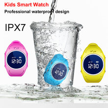 2018 NEW Kid Safe GPS Smart Watch Locator Tracker Anti Lost Monitor Lovely Wristwatch Support Micro SIM card for Children(China)