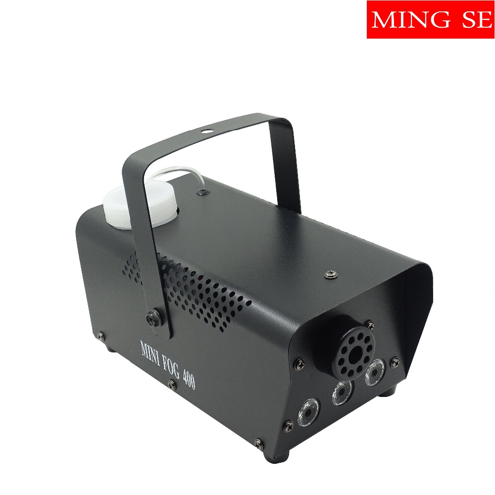 RBG Led  fog machine remote control  Mini 400W smoke machine professional DJ lighting equipment light effectsRBG Led  fog machine remote control  Mini 400W smoke machine professional DJ lighting equipment light effects