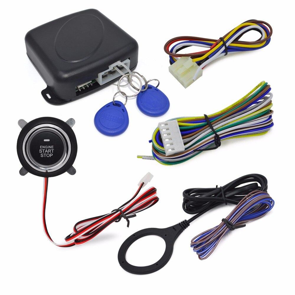 авто запуск сигнализация нажимаете на клавишу, чтобы запустить систему интеллектуальных Блокировка включения акк сигнализации