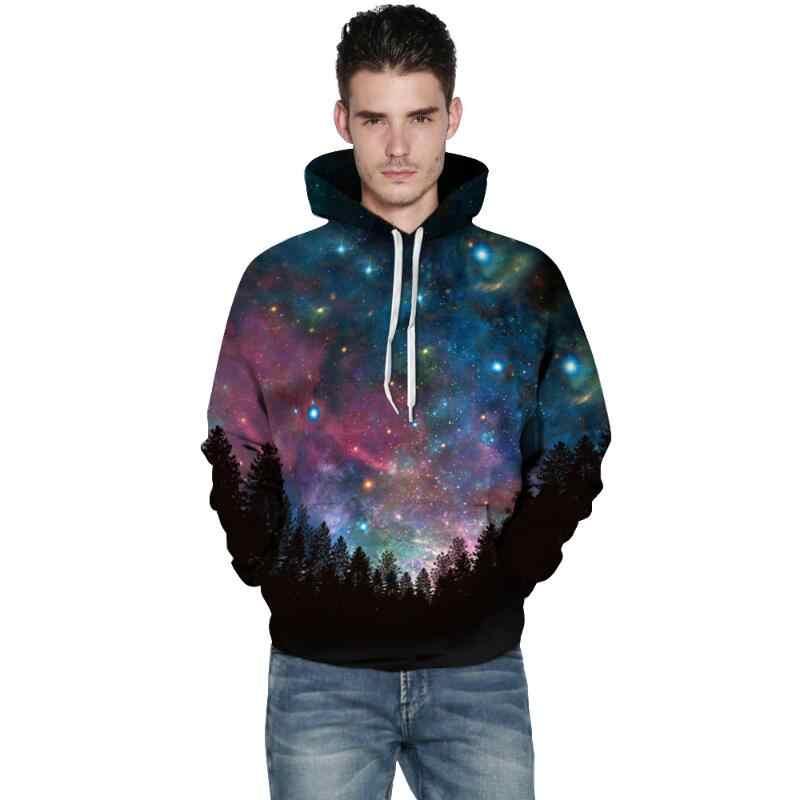 Cloudstyle Galaxy 3D Print Hoodies Mannen Vrouwen Streetwear Hoody Trainingspak Hot Koop Populaire Hipster Trui Tops Plus Size 5XL