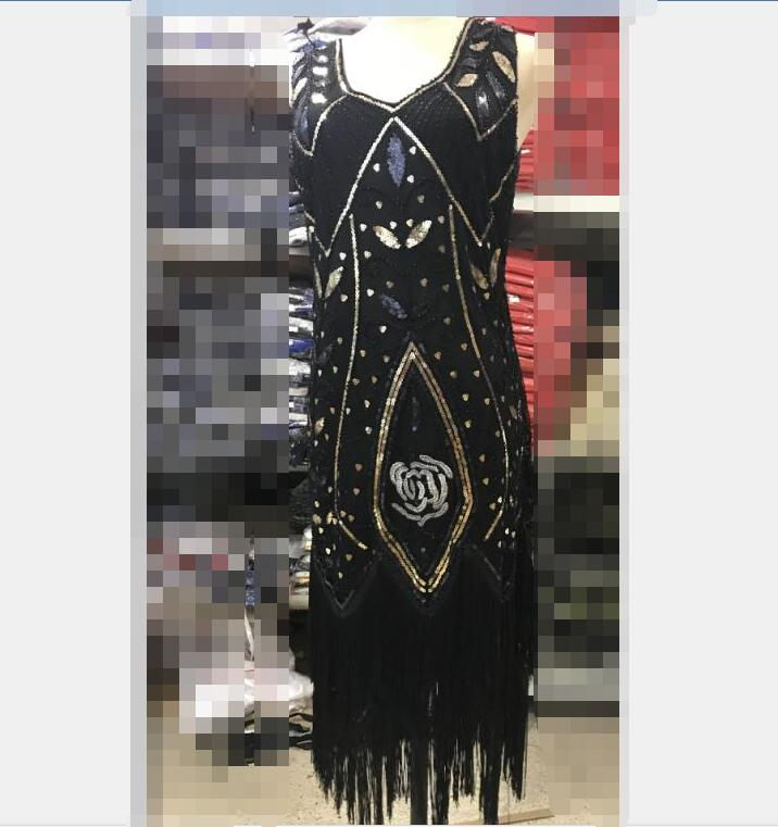 red blue black Red Gold Ladies 1920s Roaring 20s Flapper Costume Sequins  Gatsby Dress Up carnival haliday costume on Aliexpress.com  36de3118a426